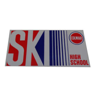 Sticker Colmar Ski High School