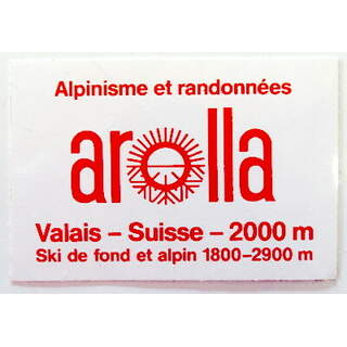Sticker Arolla Vintage